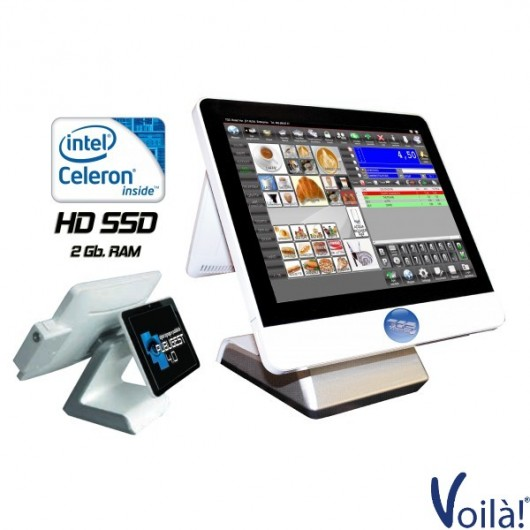 """POS TOUCH 15"""" DUAL MONITOR"""