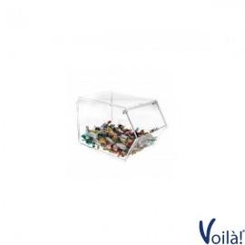 Porta caramelle con chiusura a sportello - 16 x 25 x 17(H) cm
