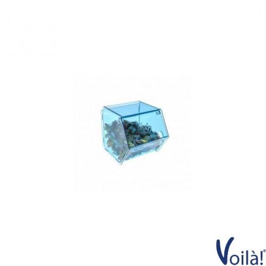 Porta caramelle Colorato con chiusura a sportello - 16 x 25 x 17(H) cm
