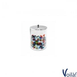 Porta Caramelle Trasparente A Base Circolare - 12,5 x 15 (H) cm
