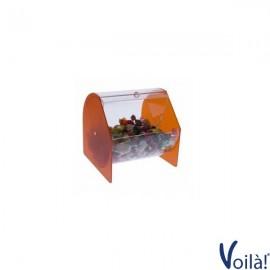 Porta Caramelle/Dolciumi Circolare Colorato - 20 x 20 x 21 (H) cm